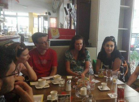 Встреча в кафе 25.07.17 - Фото 1   Учимся говорить по-немецки