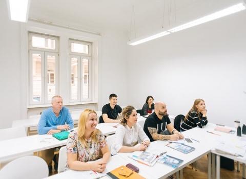 Gruppe A2.2 30.09.19 - 24.10.19 ✰ IFU Sprachschulung ✰ Deutschlernen in Wien