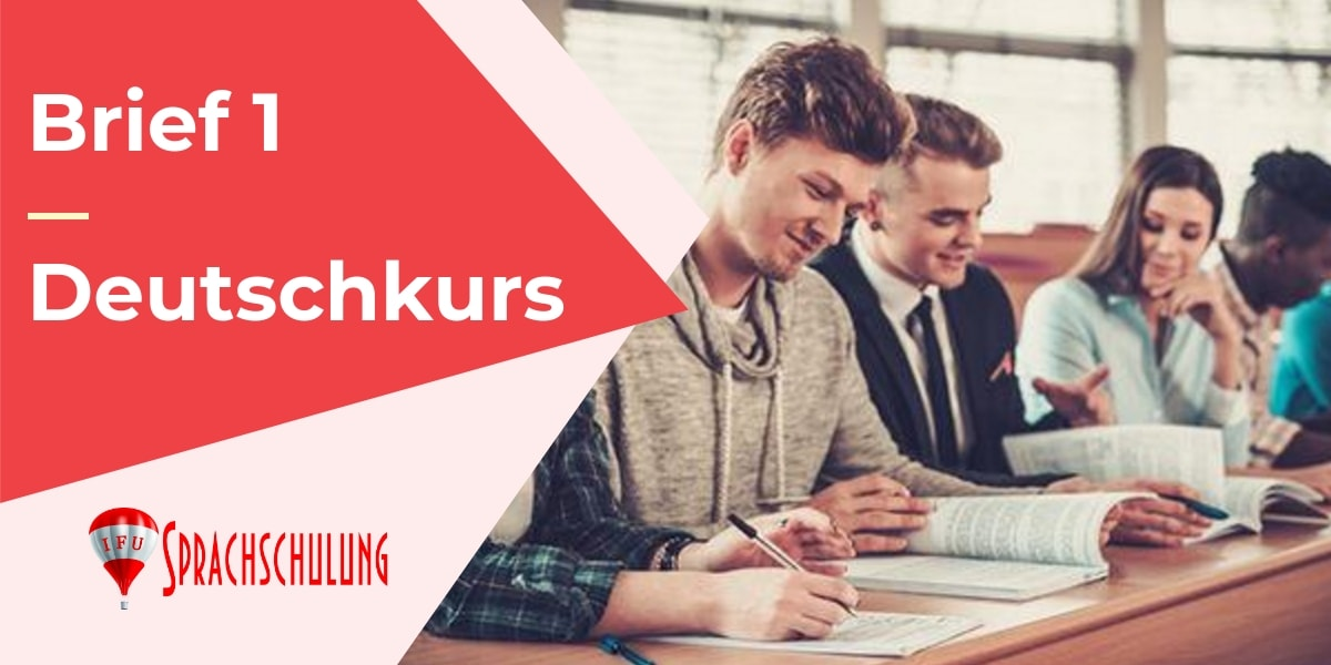 Deutsche Brief A1 Prüfung Brief Schreiben A1 Ifu Sprachschule