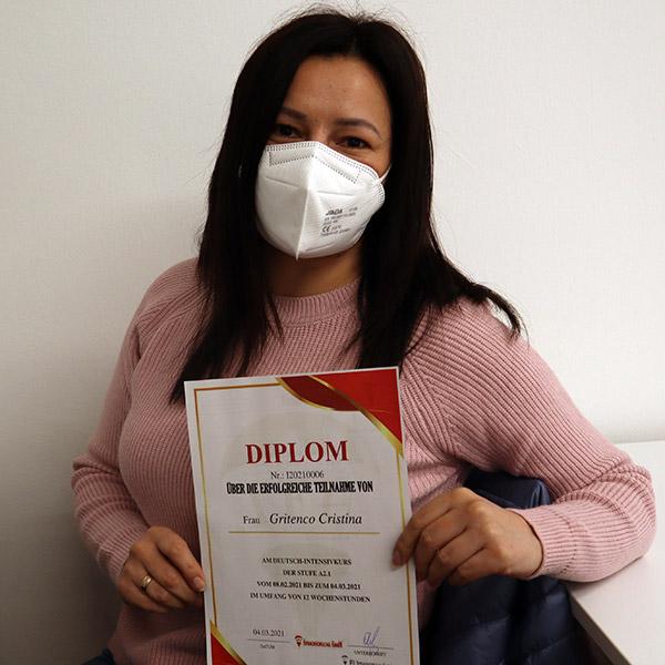 Cristina Gritenco; A2.1; Moldova