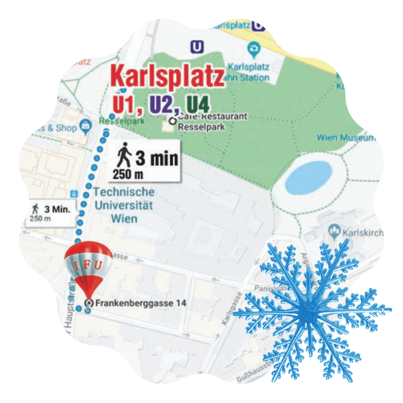 The Holiday Course  «Winter in Vienna – Time for Miracles» - Kontakte | IFU Sprachschulung