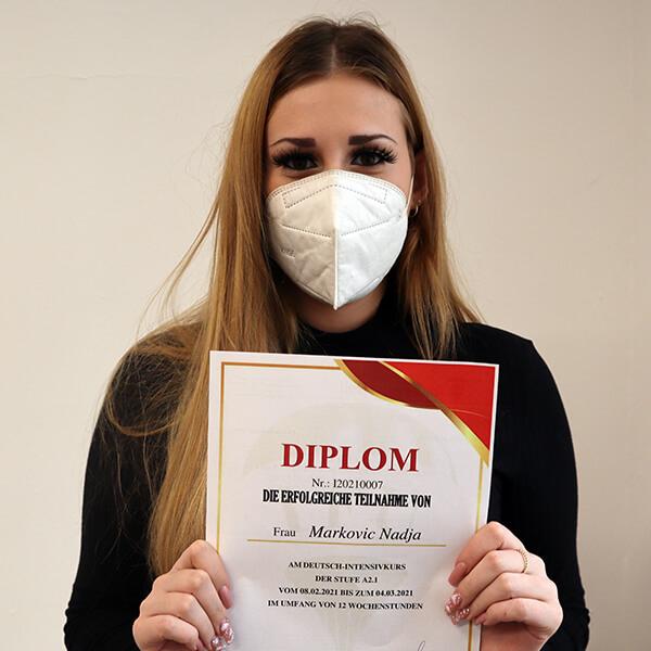 Nadja Markovic; A2.1; Serbien