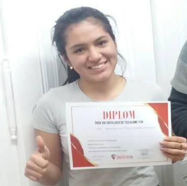 Martha Milangros Moncay de Freitas, A2.2 (Peru)
