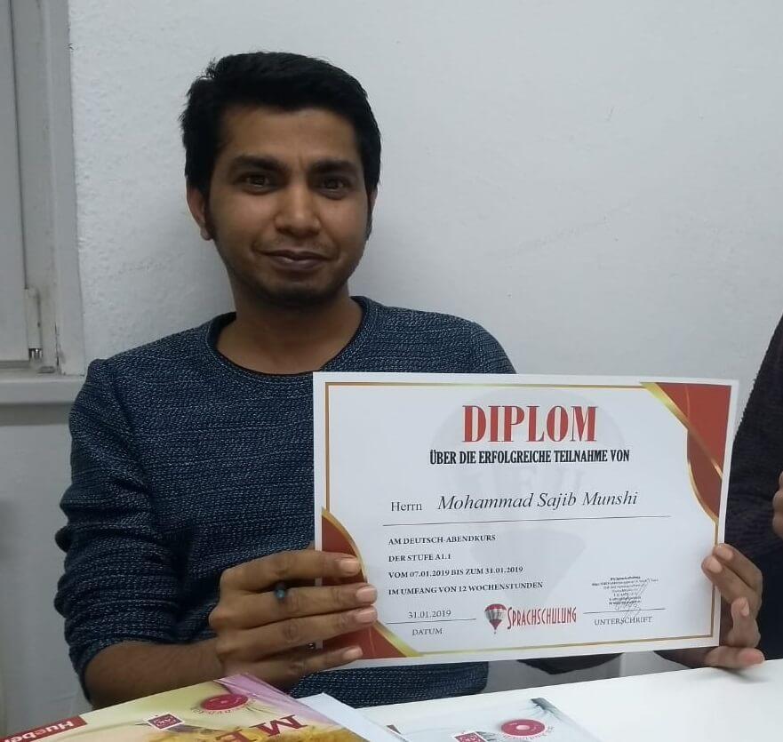 Munshi Mohammad Sajib, A1.1 (Bangladesh)