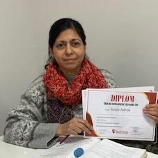 Naila Imran, B1.1 (Pakistan)