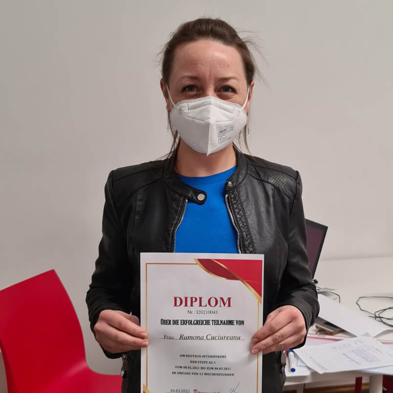 Ramona Cuciureanu; A2.1; Rumänien