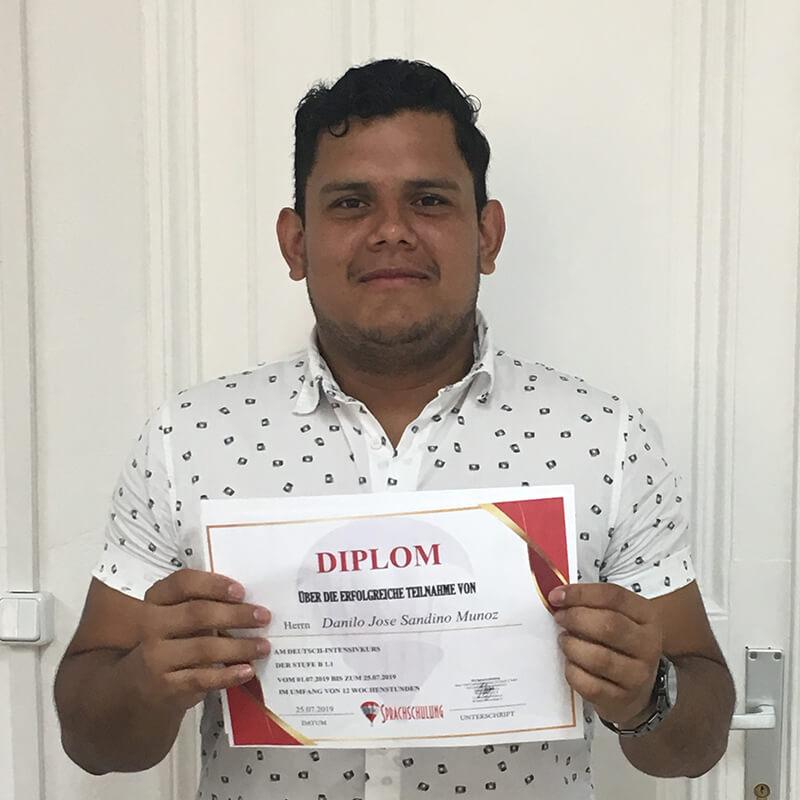 Danilo Jose Sandino Munoz, B1.1 (Nicaragua)