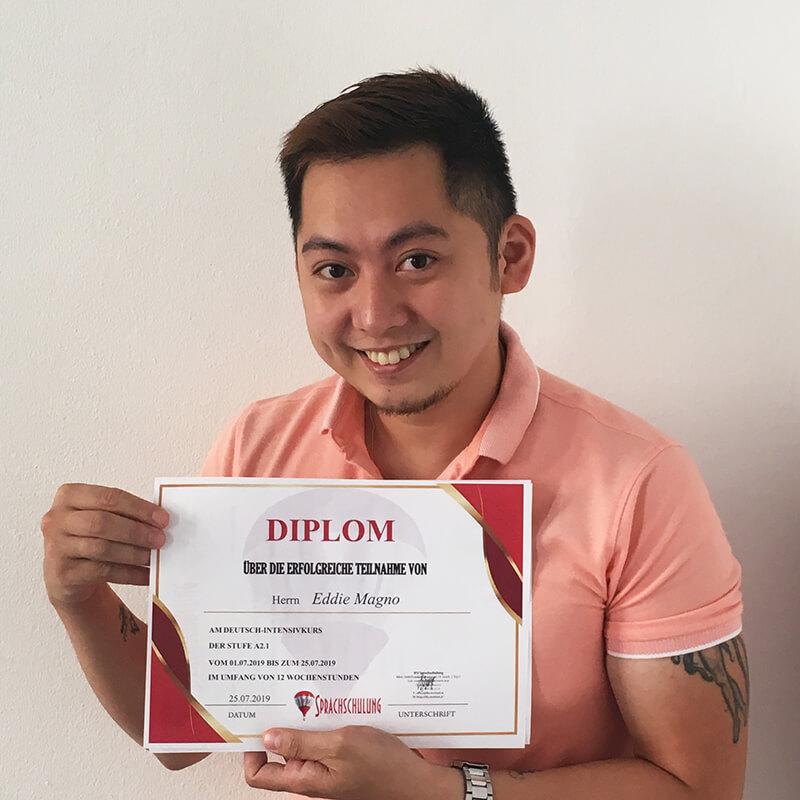 Eddie Magno, A2.1 (Filippinen)