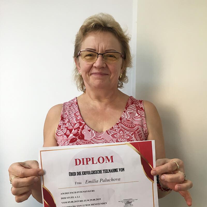 Emilia Paluchova, A2.2, Slowakei