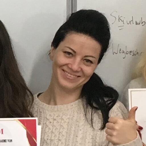 Kristina Maric, B1.1 (Serbien)