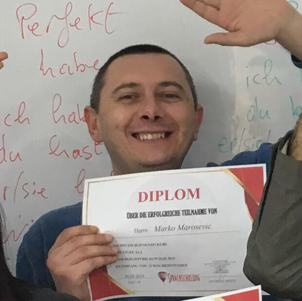 Marko Marosevic, A1.1 (Kroatish)