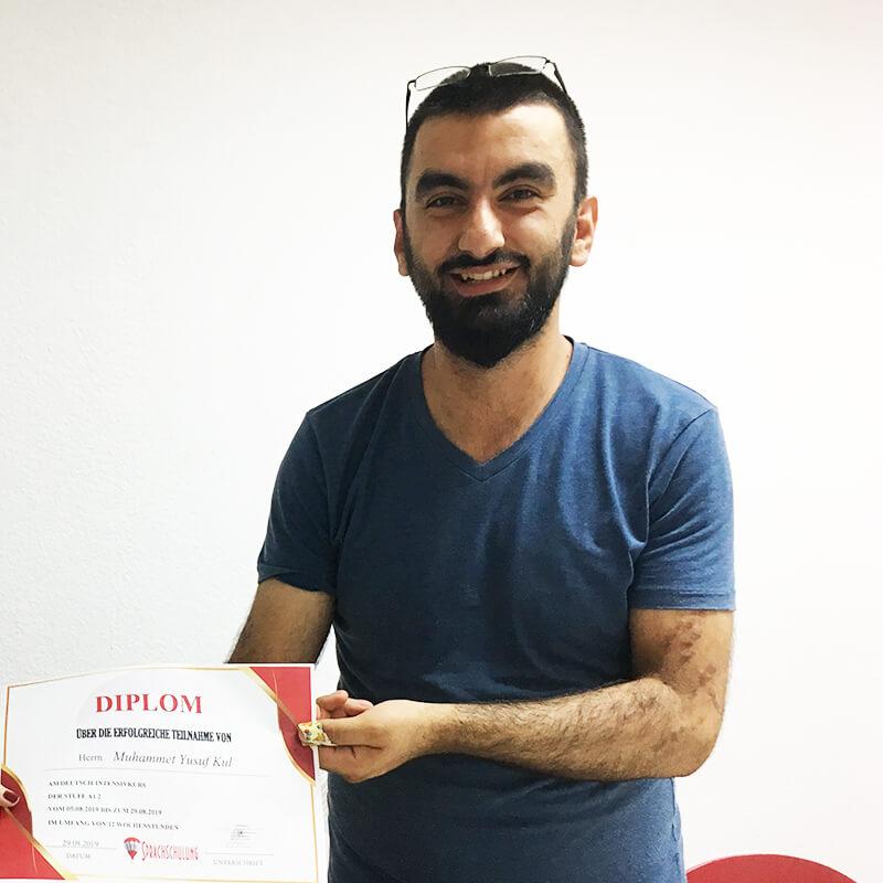 Muhammed Yosuf Kul, A1.2, Türkei