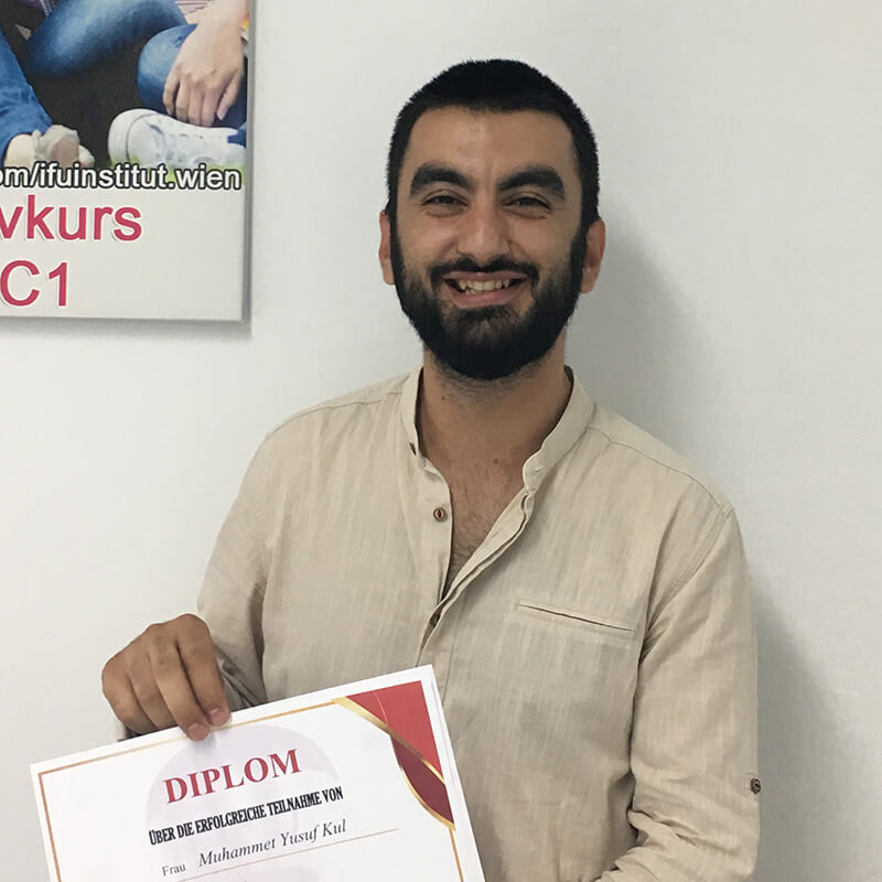 Muhammet Yusuf Kul, A1.1 (Türkei)