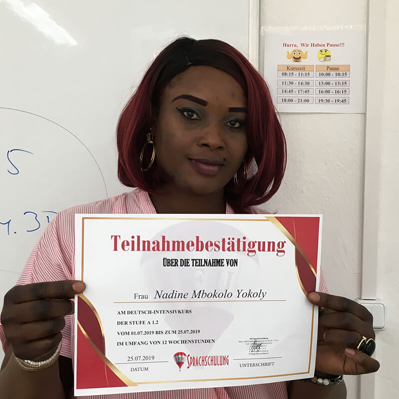 Nadine Mbokolo Yokoly, A1.2 (Kongo)