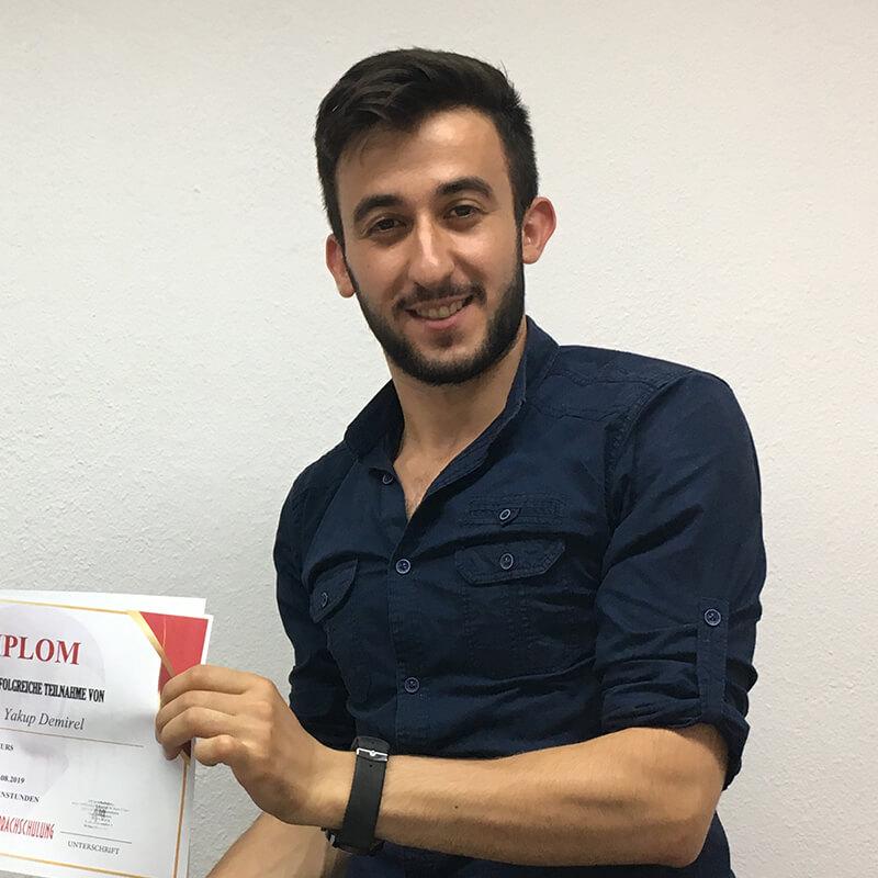 Yokup Demerel, A1.2, Türkei