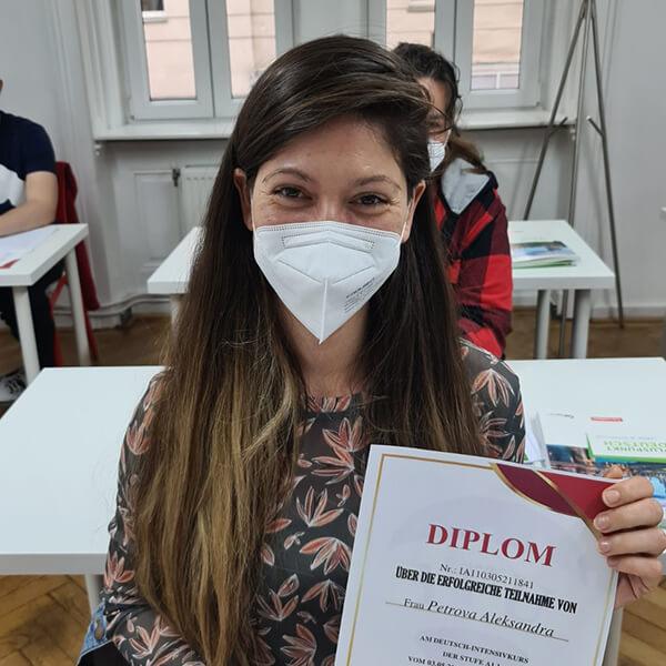 Aleksandra; A1.1; Bulgarien