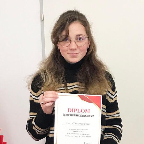 Giovanna Fazio; Argentinien; Stufe: A1.1
