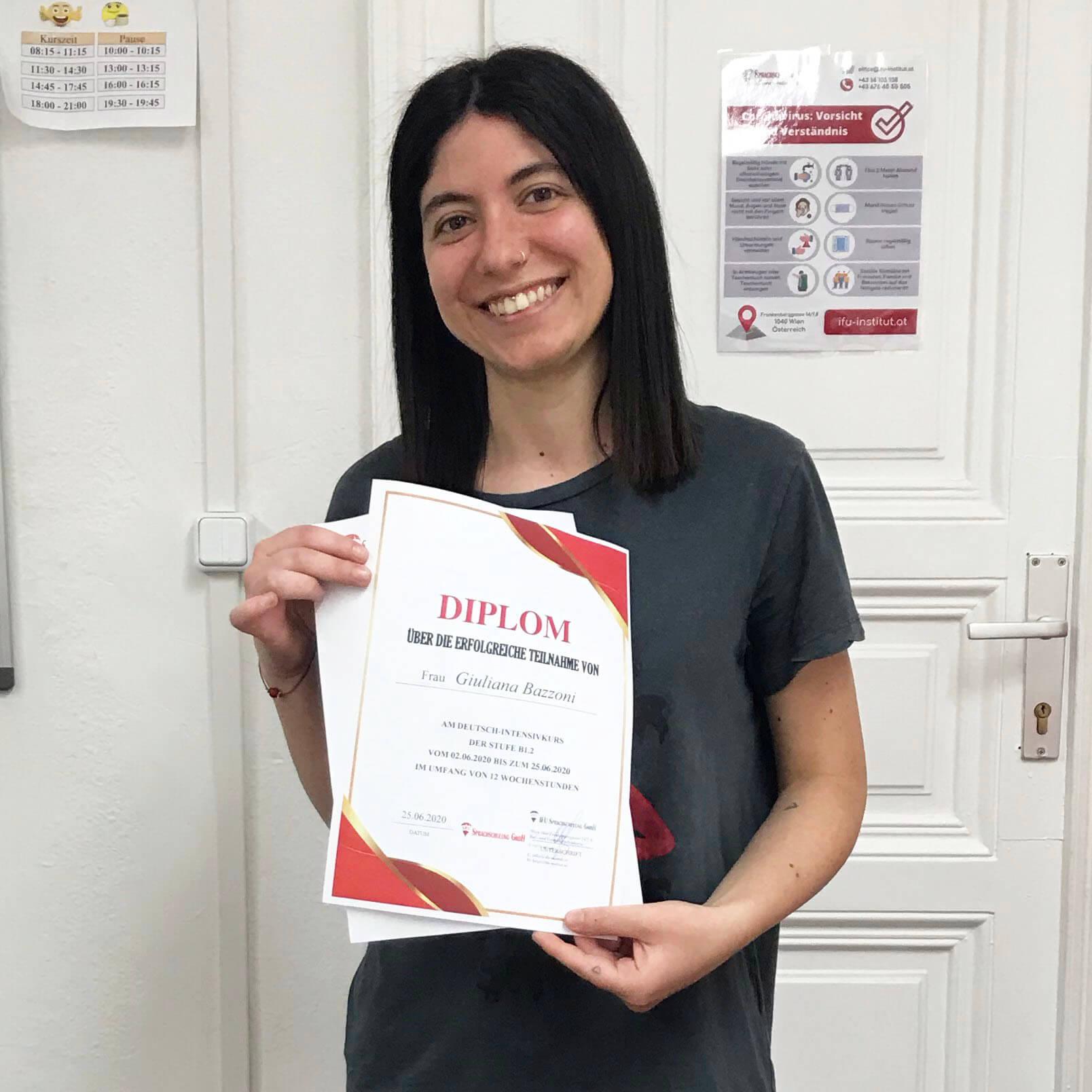Giuliana Bazzoni; Italien; B1.2;