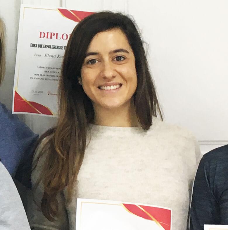 Julia Mampaso, A 1.2, Spanien