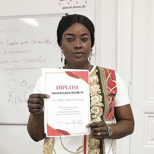 Nadine Mbokolo Yokoly; Kongo; A2.1;