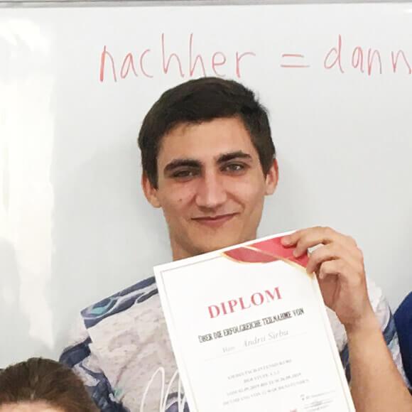 Sirbu Andrei, A1.1, Rumänien